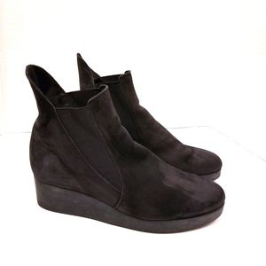 Arche Platform Leather Booties